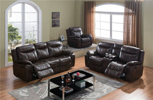 living room home furniture fabric leather recliner sofa sets SF3739