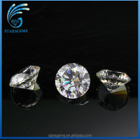 The Best Price Round 4mm Light Yellow Cubic Zirconia, Machine Cut Brilliant Synthetic Diamond
