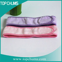 Hairdressing spa facial microfiber microfiber shower hair band