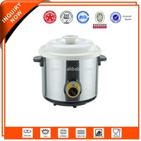 new design electric ceramic stew cooking pot (model E)