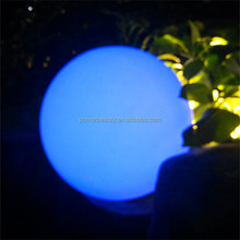 Diameter 60cm LED moon light /16 color low power safe deco ball