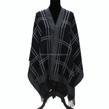 fashion glitter winter wear wool shawl
