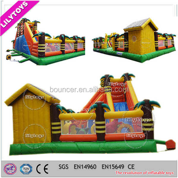PVC Inflatable Bouncing Juego for Kids with CE certificate