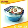disposable food container Microwave plastic round food container Customized private labeling