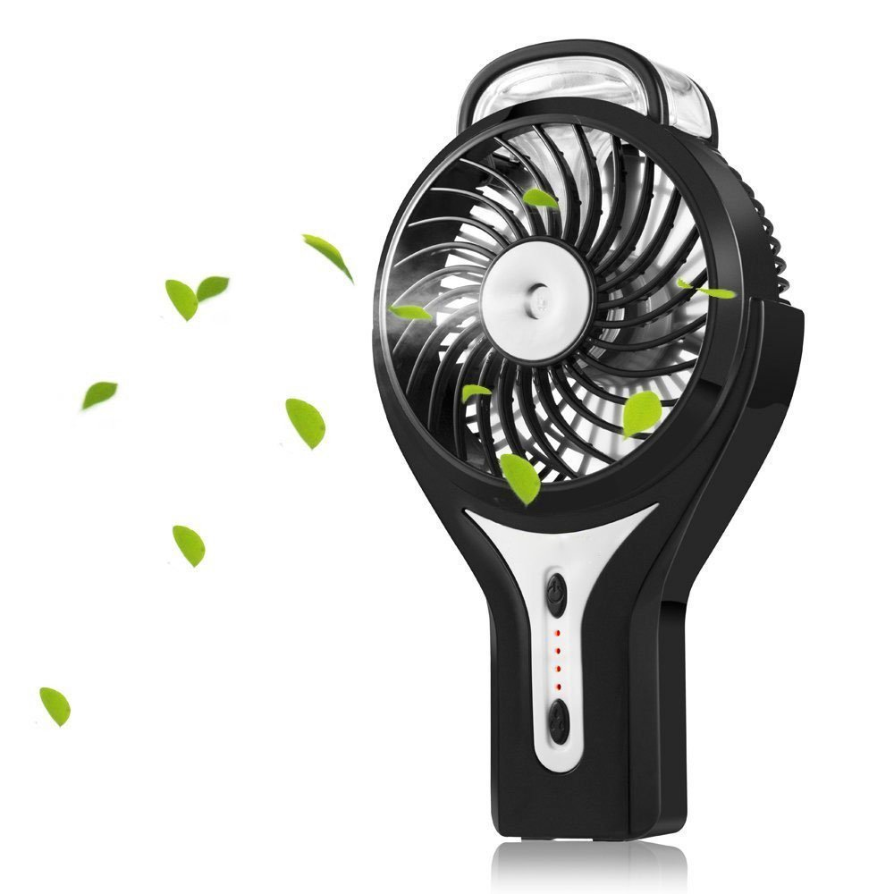 2018 Alibaba 3 Settings Electric Desk Misting usb handheld mini water spray fan