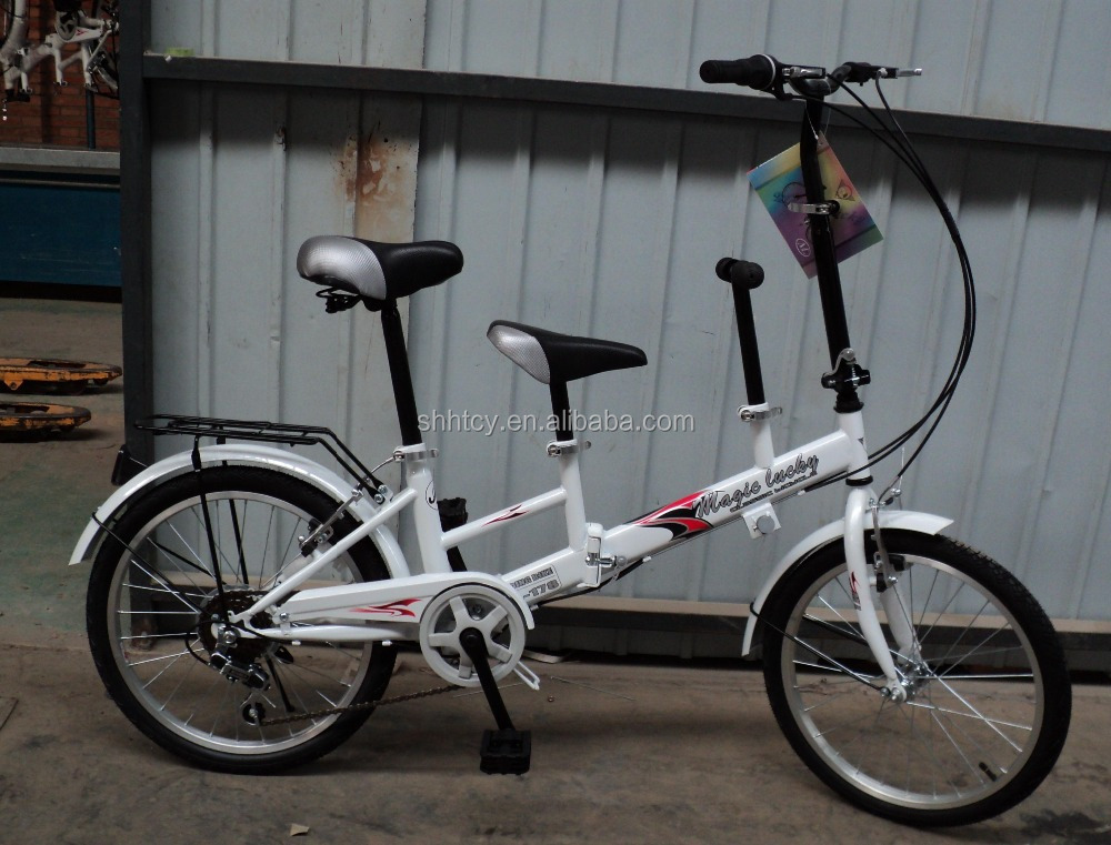 20inch new model tandem bike for mom and kid