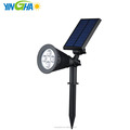 New 200 Lumens garden Solar Wall Lights spot light