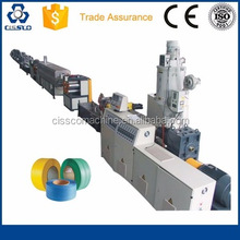 PP STRAPPING BAND EXTRUDER MACHINERY, PET FLAKES STRAPPING BAND PRODUCTION LINE