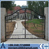simple wrought iron gate/Decorative Outdoor Pedestrian Wrought Iron Gates Garden Gate