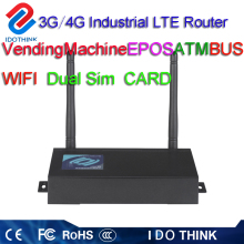 Best price of openvpn umts industrial dual sim 4g dual 3g router bonding