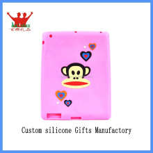 Cute soft silicone case for ipad silicone protective case for ipad tablet