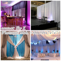 modern wedding backdrop stand
