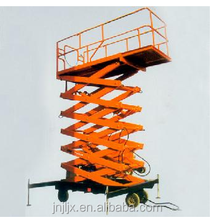 Automatic hydraulic mobile basket scissor lifts/Electric mobile scissor building lift price