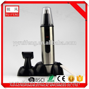 nose/ ear hair trimmer electric nose trimmer