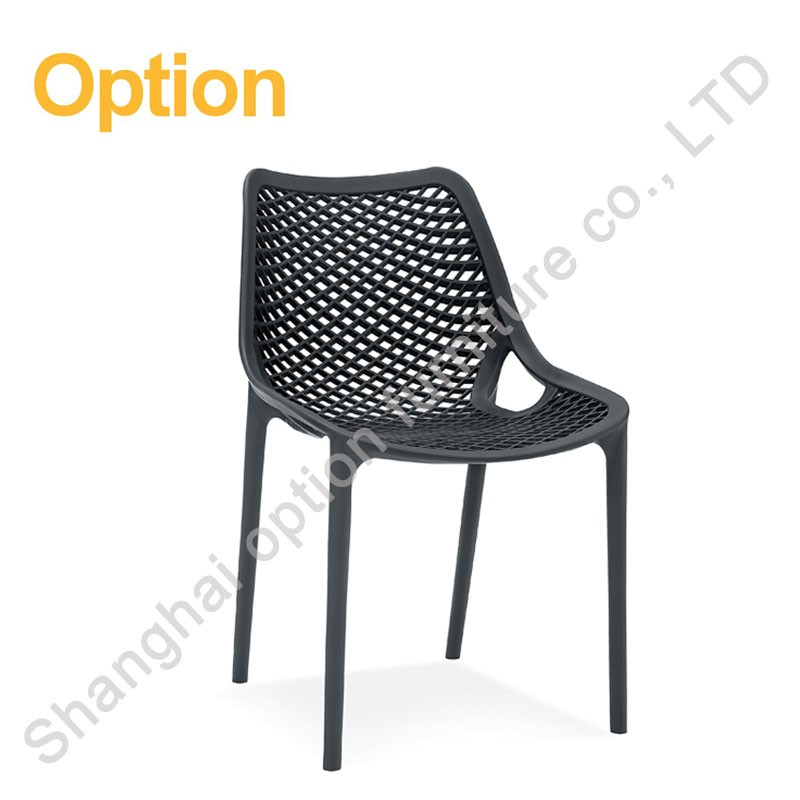 2017 new product waiting plastic chair