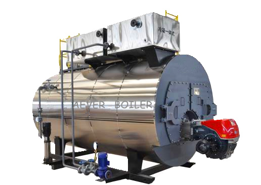 wns 1 ton horizontal diesel steam boiler for best selling