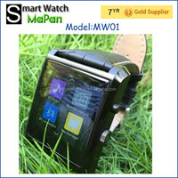 Low cost BT4.0, music player, MaPan phone calling touch screen smart watches with wholesale price