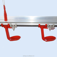Poultry processing equipment for poultry nipple drinker