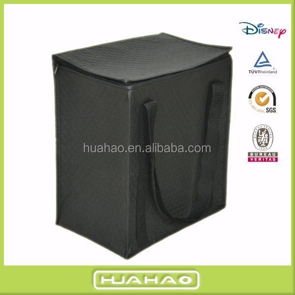 insulated non woven cooler 12-can carrying beer bag
