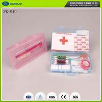 KLIDI Small Order Available Mini Emergency Car First Aid Survival Kit For Sale