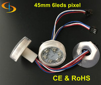 amusement rides led pixel 45mm 6chips light ce & rohs approved pixel led ADS-IC456