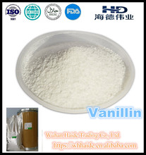 High quality Food Grade flavoring agent Vanillin