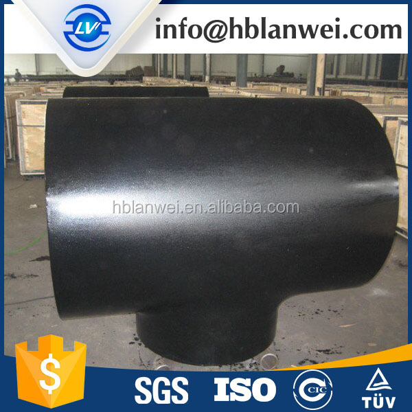 carbon steel pipe fitting lateral tee hot dipped galvanized black fitting