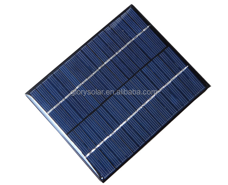 Solar Panel Manufacturers In China Offer 2W 18V Solar Panel Wholesale 110mA 136*110*3MM Small Mini Solar Panel Customization