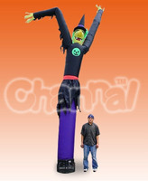 Nylon Fly Guy Witch Inflatable Air Dancer /Air Tube Man