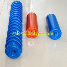 HDPE/PVC/Rubber Rollers for Conveyor use in mine, cement, construction, TBM, tunnel, industry