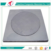 Dubai Double Sealed FRP GRP Manhole Cover and Frame
