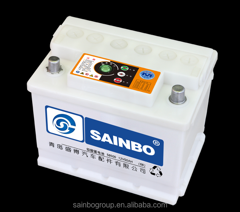 JIS Standard MF Car Battery with bottom price