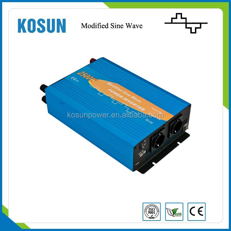 12V,220V 2500W DC to AC Modified Sine Wave Power Inverter