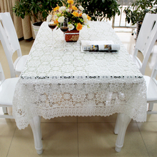 White tablecloth and rectangle fancy wedding table cloths