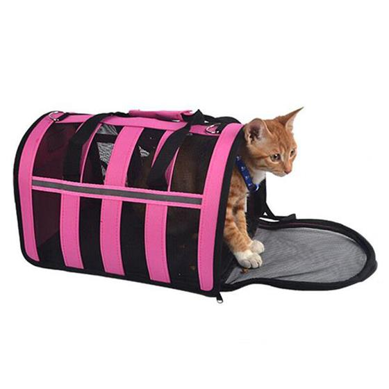 Professional travel folding pet carrier bag for small dogs