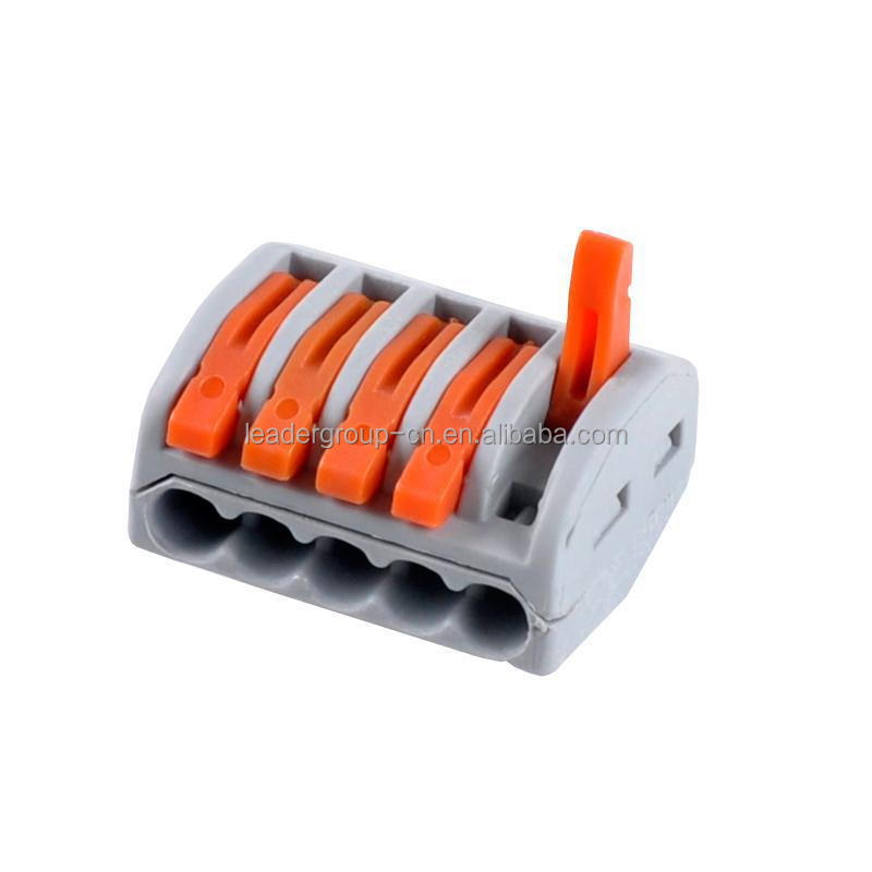 Wholesale piece way push wire connector wago