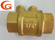 brass check valve non-return flap valve
