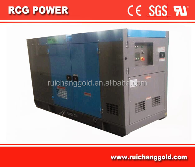 100KVA/80kw genset powered by 1104C-44TAG2 engine