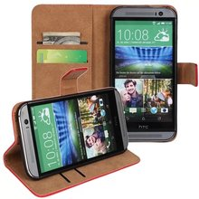 Hot Flip Phone Case for HTC One M8, Phone Case for HTC One M8 with Card Slot and Stand