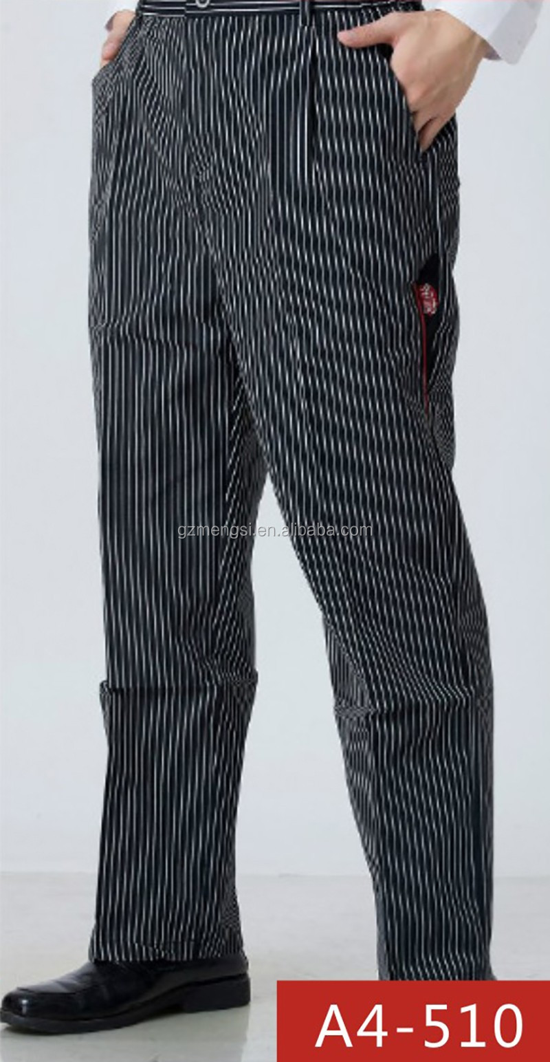 Wholesale customized casual 100% cotton fabric material cheap male pants