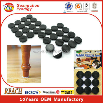self adhesive furniture chair feet EVA anti-slip pad