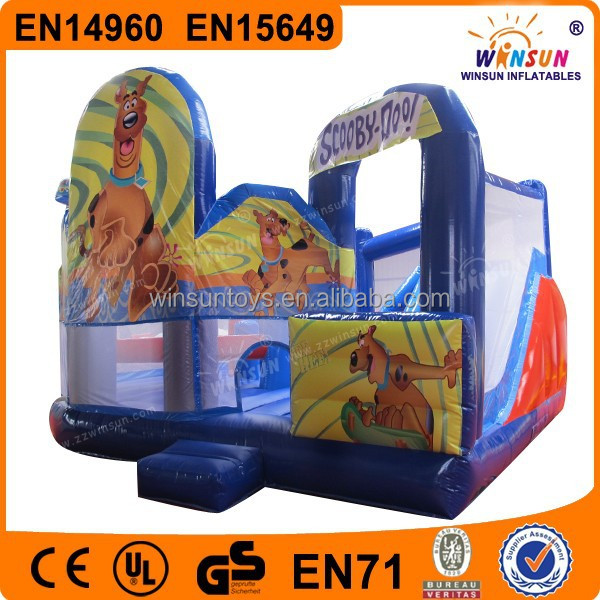 High quality castle art panels for inflatables for sale