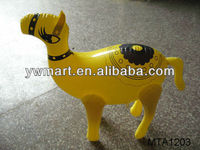Plastic PVC inflatable camel toy for sale