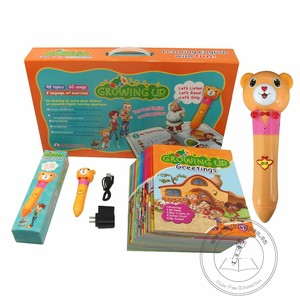 Kids English Growing up Books and Reading English and ChineseSmart Speaking Pen or beginner and kids