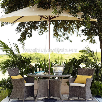 Hot sale  new design outdoor furniture patio leisure resin wicker rattan sofa