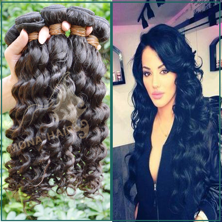 Natural color no smell soft full cuticle virgin Vietnamese deep wave hair hot sale toupee human hair
