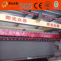 Sunite Light Weight Concrete Block Manufacturing Plant/lime gypsum cement screw conveyor/the mixing tank for casting