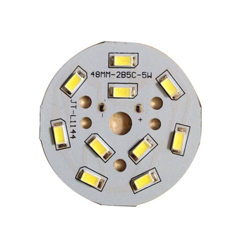 shenzhen smd pcba round panel aluminum pcb for led 5730