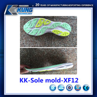 Rubber eva and TPU outsole mold customize for running shoes making
