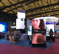 Commercial advertising presentation display fine pitch led video screen